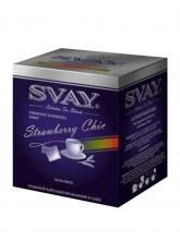 Чай цветочный каркаде Svay Strawberru Chic (Клубничный шик),  упаковка 20 саше по 2 г