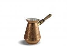 Турка Турчанка, медная со съемной ручкой, 370 мл
