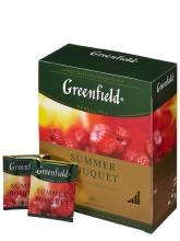 Чай травяной Greenfield Summer Bouquet ( Гринфилд Саммер Букет), упаковка 100 пакетиков