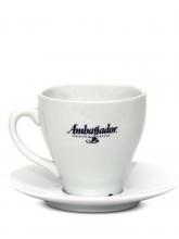 Кофейная пара Ambassador, чашка (120мл) + блюдце
