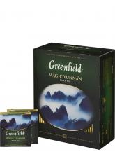 Чай черный Greenfield Magic Yunnan (Гринфилд Мейджик Юнань), упаковка 100 пакетиков