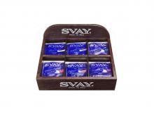 Именная полка Svay на 6 позиций чая